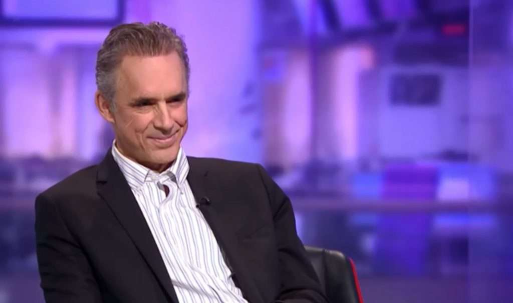 Jordan Peterson Smiling